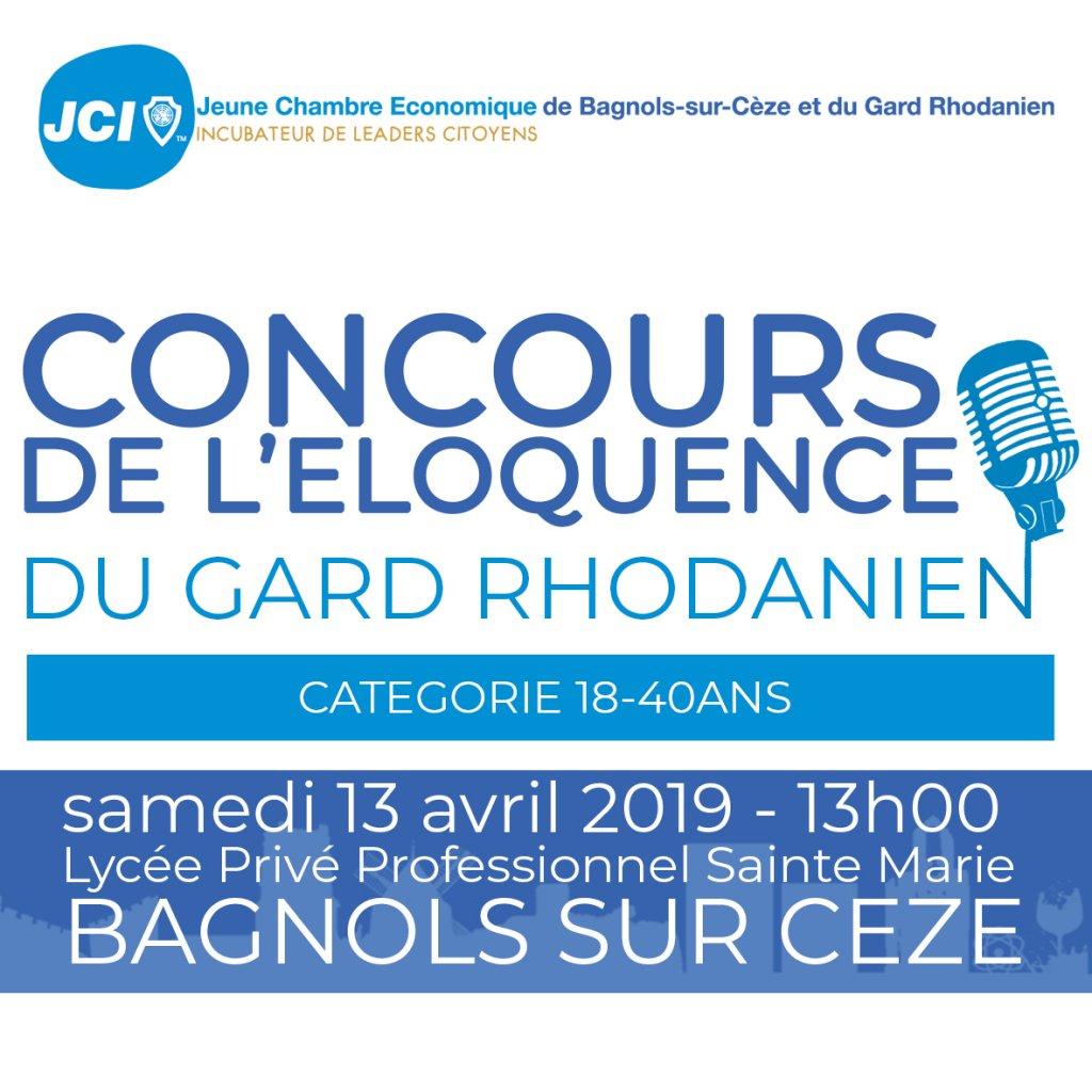 concours de l u0026 39 eloquence du gard rhodanien